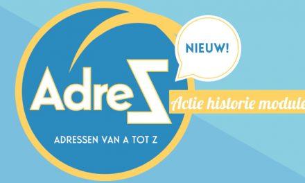 Nieuwe feature in AdreZ: Een actiehistorie module